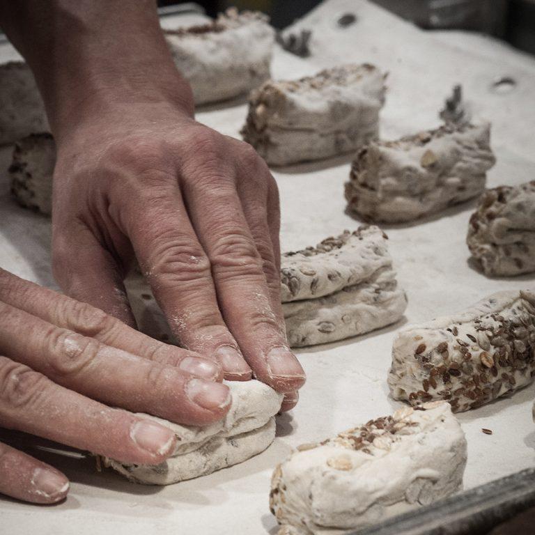 Handgemaakt brood en banket