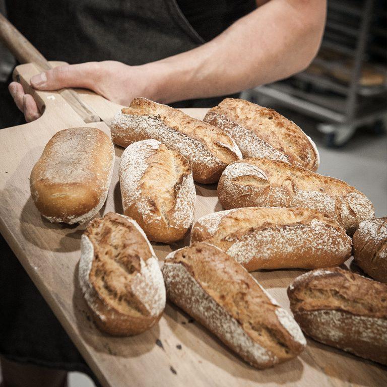Eerlijke authentieke broodjes